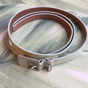 TALBOTS MADE IN ITALY LEATHER MINT BELT SIZE MED